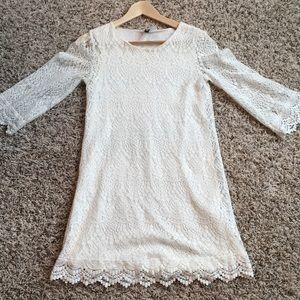 H&M Ivory Dress-Size 4